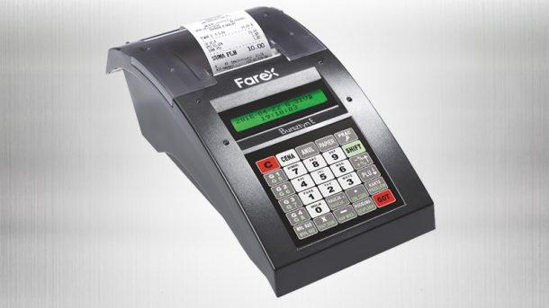 Bursztyn E Plus - nowa wersja kasy fiskalnej Farex