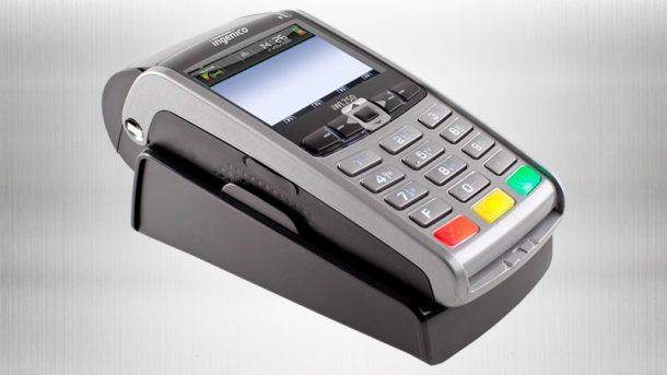 Terminal akceptujący płatności elektroniczne