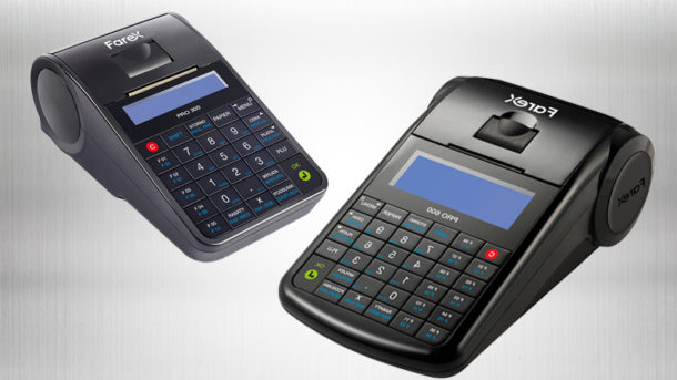 Kasy online Farex Pro 300 i Farex Pro 600